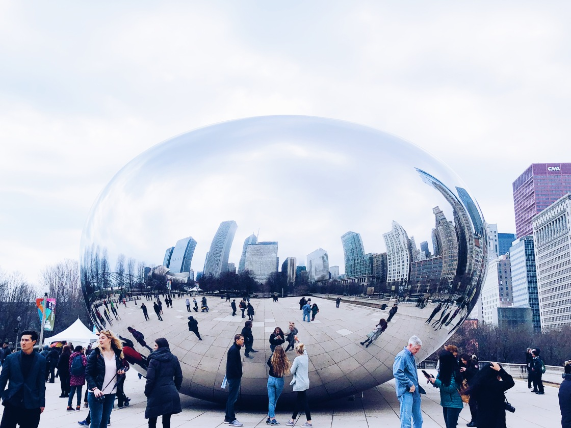 travel tips, chicago, the bean, millennium park, things to do in chicago,